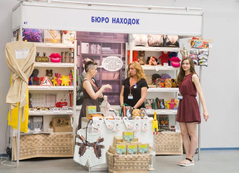 非常具有特色的俄罗斯传统工艺品展商