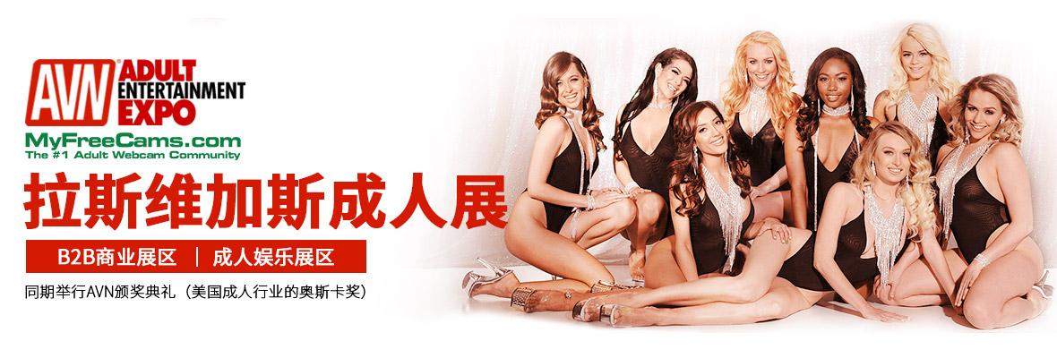 美国拉斯维加斯成人展AVN横幅banner