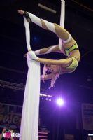 精彩的空中舞蹈表演,专业、高难度