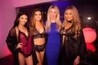 AdultEx欢迎派对的四位情趣内衣模特