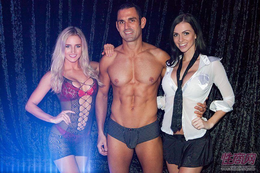 三位情趣内衣模特