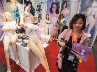 同上届展会相同,有众多实体仿真娃娃厂商参展