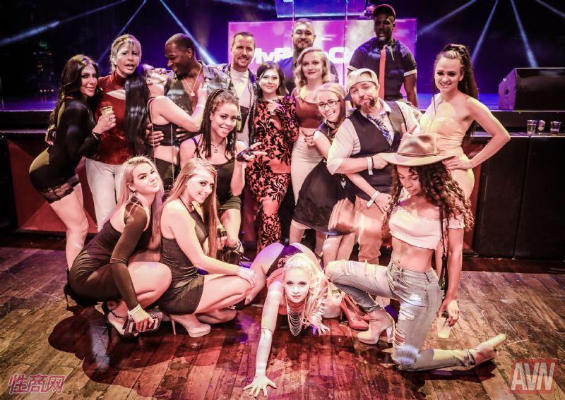 拉斯维加斯成人展AVN-提名派对 (5)