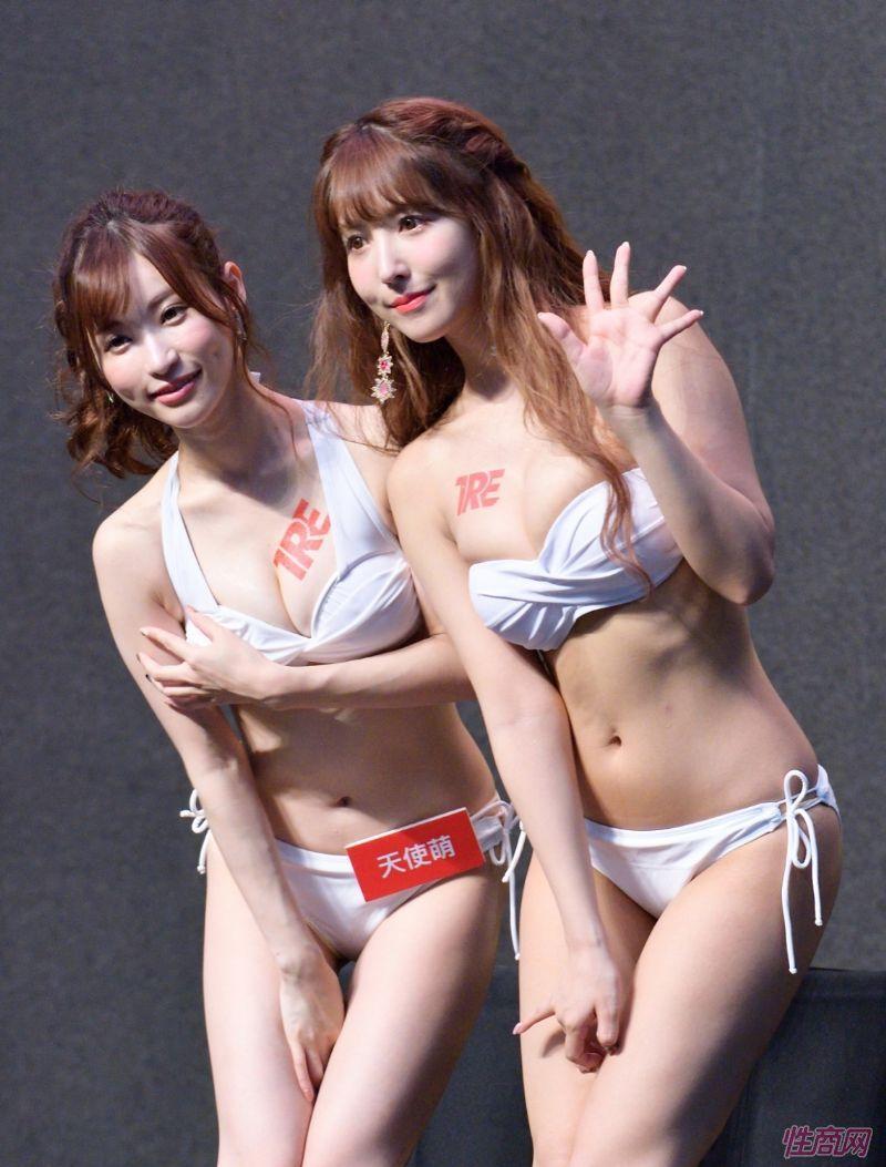 日本著名女优桥本有菜亮相台北成人博览图片59