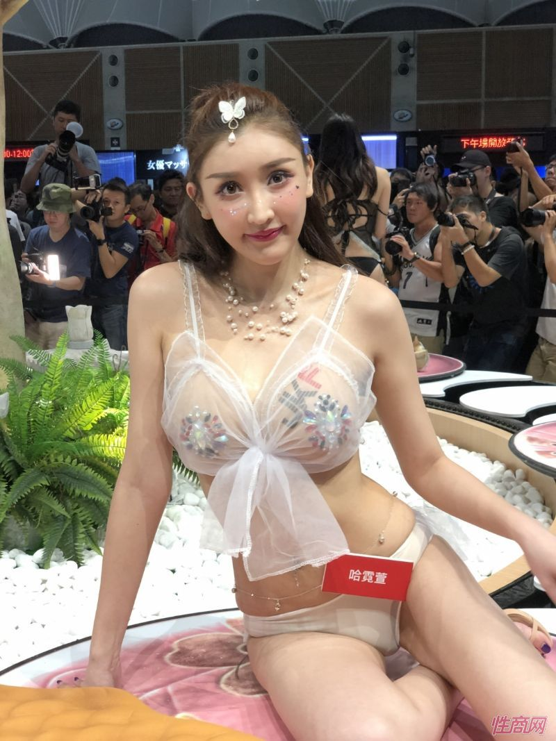 2019台北成人博览TRE本土台妹性感靓丽图片10