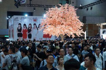 视觉盛宴感觉美女都来参加台北成人博览了图片12