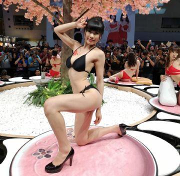 视觉盛宴感觉美女都来参加台北成人博览了图片15