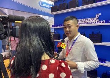 广东电视台采访享久喷剂