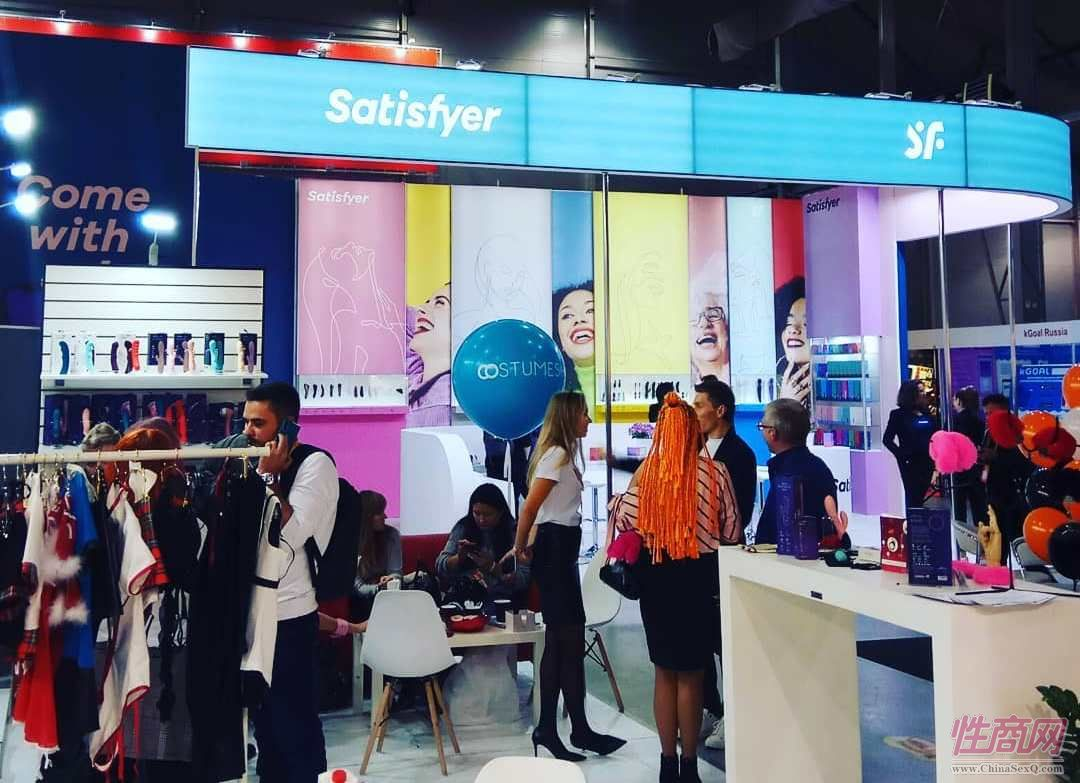 Satisfyer-本届展会赞助商,快速崛起让业界震惊
