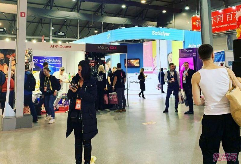 来自全球的商家参加俄罗斯成人展,有很多中国展商图片19