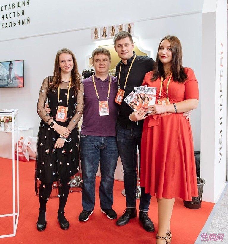 来自全球的商家参加俄罗斯成人展,有很多中国展商图片42