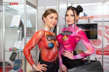 2019俄罗斯成人展模特