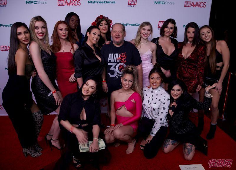 群星闪耀成人影视奥斯卡AVN大奖提名晚会 [多图]