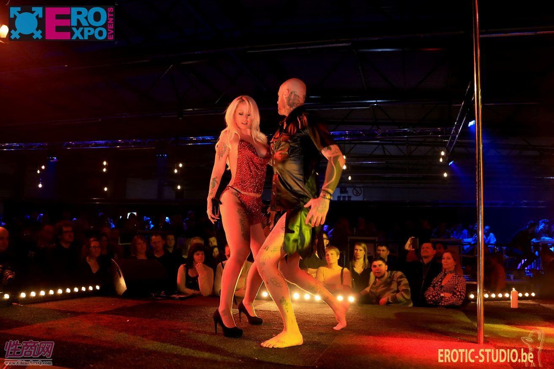 比利时根特成人展-钢管舞表演 (2)