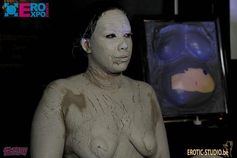 颇为恐怖的人体彩绘,视觉冲击感十足 (3)