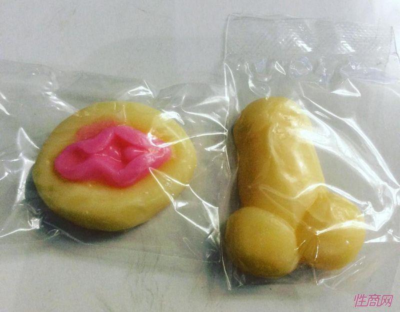 造型丑萌的情趣糖果