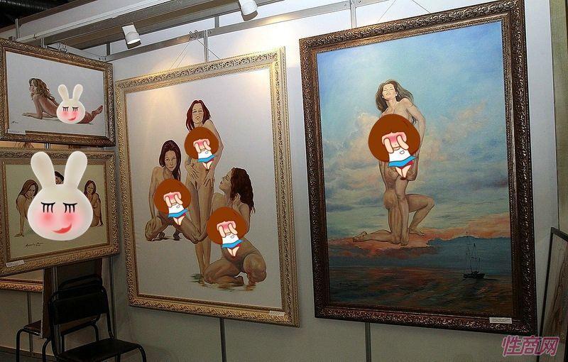 艺术沙龙展示了一系列著名艺术家,摄影师和雕塑家的作品