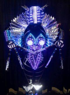 酷炫的LED特效表演