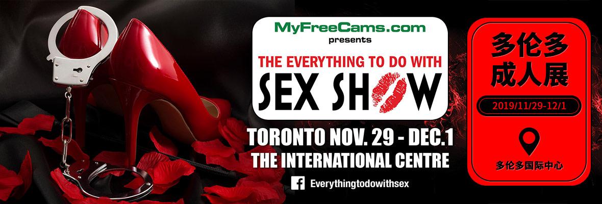 2019加拿大多伦多成人展TabooShow横幅banner