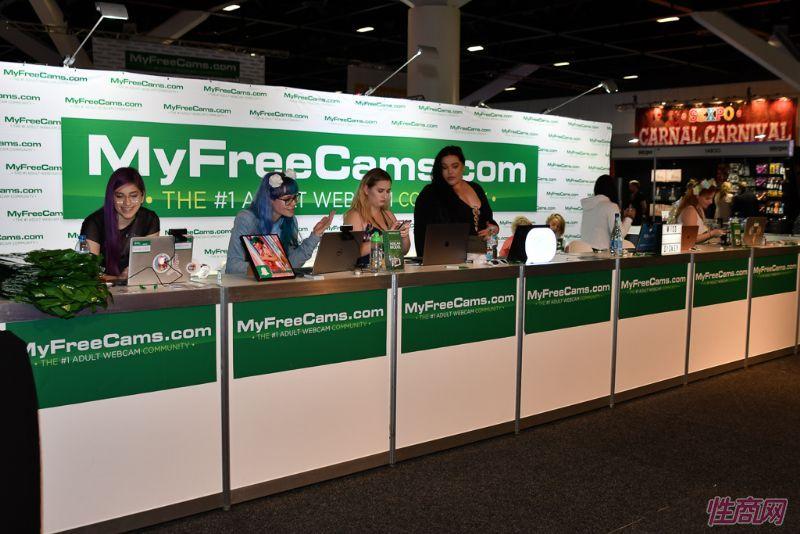 MyFreeCam视频网站展台
