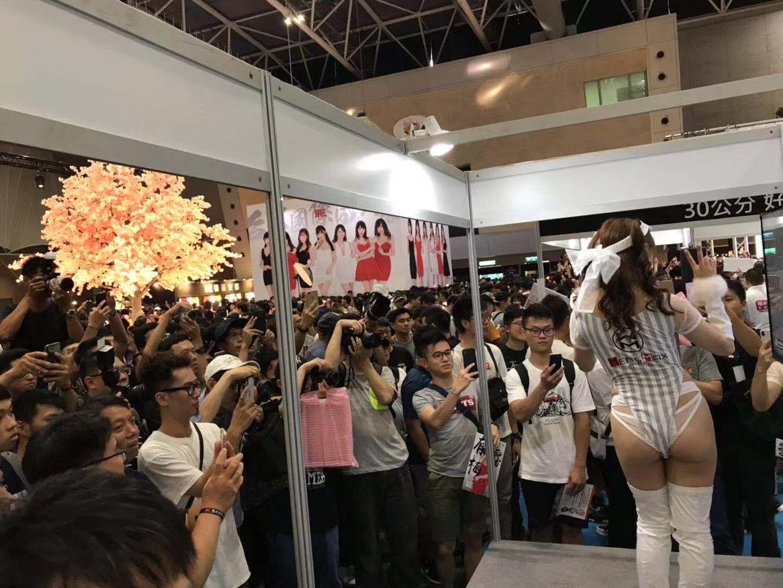 MensMax展台吸引众多观众
