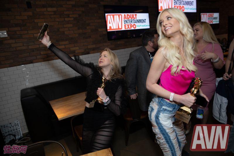拉斯维加斯成人展AVNshow名人堂酒会(56)