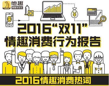 《2016情趣消费行为报告》