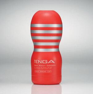日本TENGATOC-101红色深喉**杯标准型自慰杯男用飞机杯成人用品