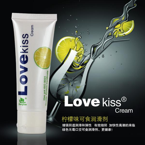 love kiss柠檬味润滑油50ML 可食用的润滑液 ****润滑剂1