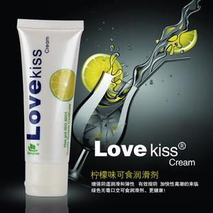 love kiss柠檬味润滑油50ML 可食用的润滑液 ****润滑剂
