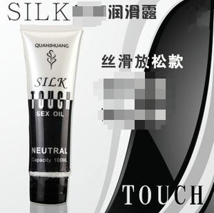 silk touch润滑剂 同志用品gay自慰后庭润滑油 可食性润滑液100ml