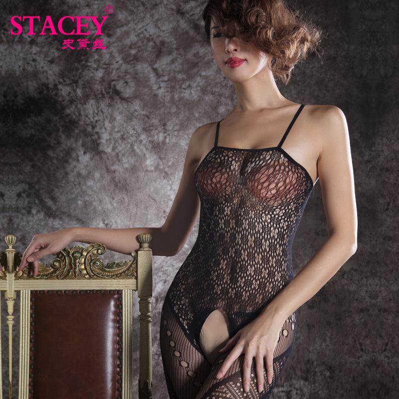 史黛丝女士性感情趣内衣11127镂空长裙不含内裤1