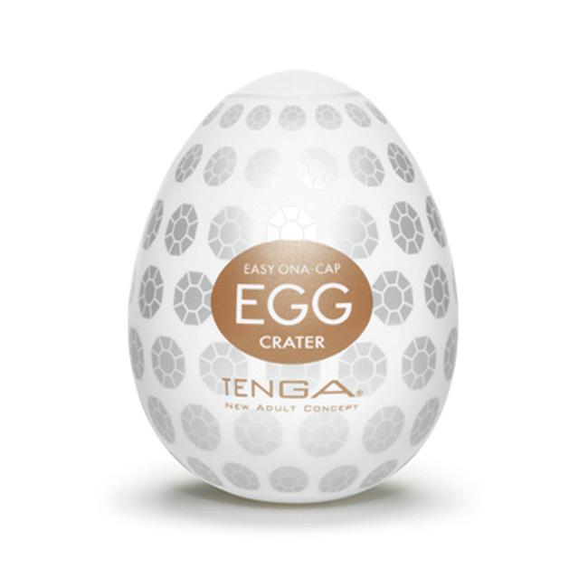 日本TENGA EGG-008月坑型 男用自慰蛋 成人性用品情趣蛋1