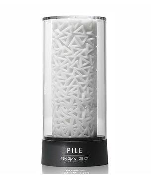 日本tenga自慰杯PILE立体三角3D飞机杯自慰用品男性趣自慰器1