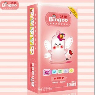 Bingoo冰果水润呵护10只装 避孕套超薄安全套情趣性用品批发