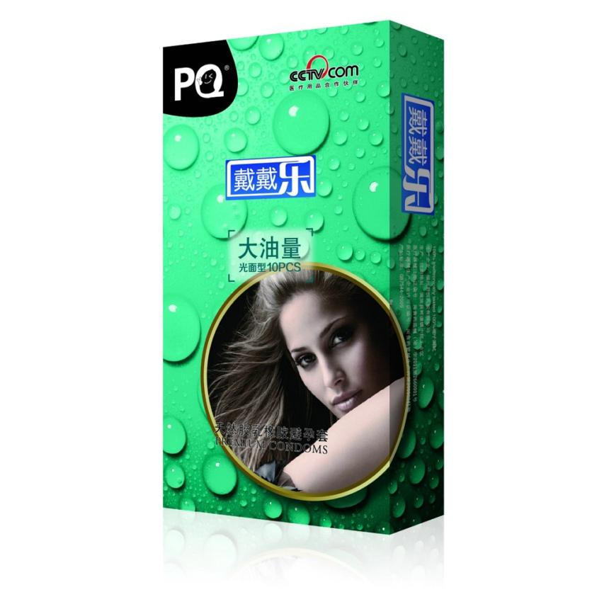 批发戴戴乐牌 大油量(绿)安全套避孕套厂家代理 淘宝批发代发