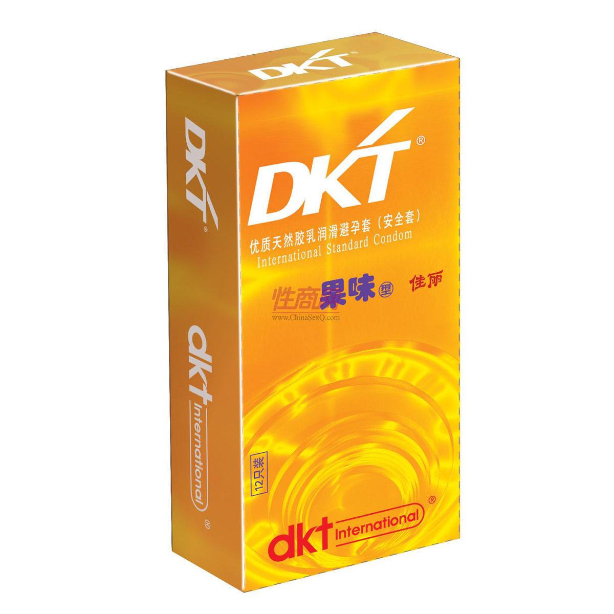 DKT果味型佳丽安全套